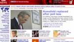 Rumsfeld replaced after poll loss